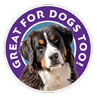 Great for dogs too badge