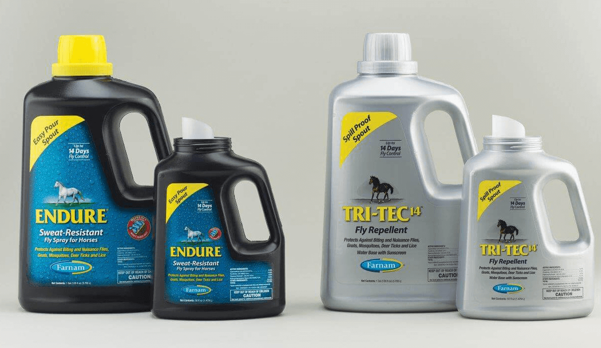 New Endure and Tri-Tec easy pour bottles for less spills and the new quart size