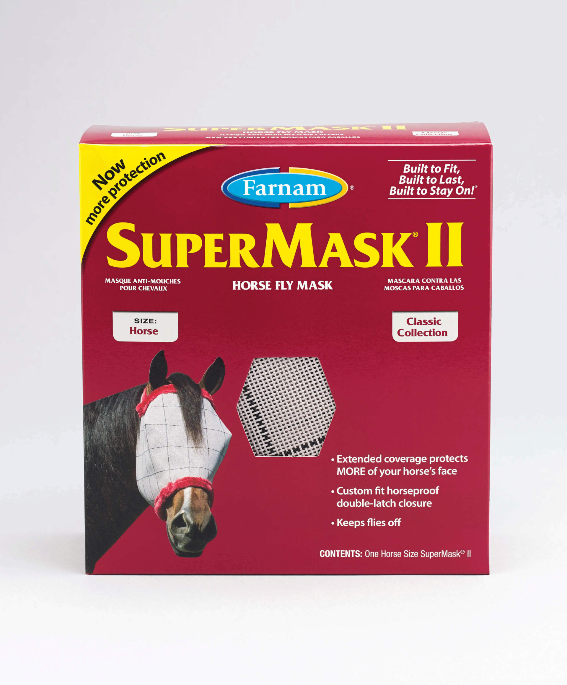 New and Improved Farnam SuperMask II now with more nose coverage