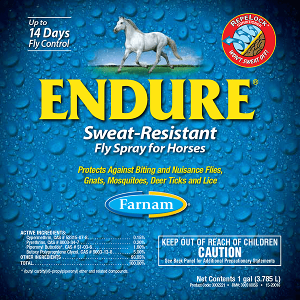 Endure Sweat-Resistant Fly Spray for Horses | Fly & Insect