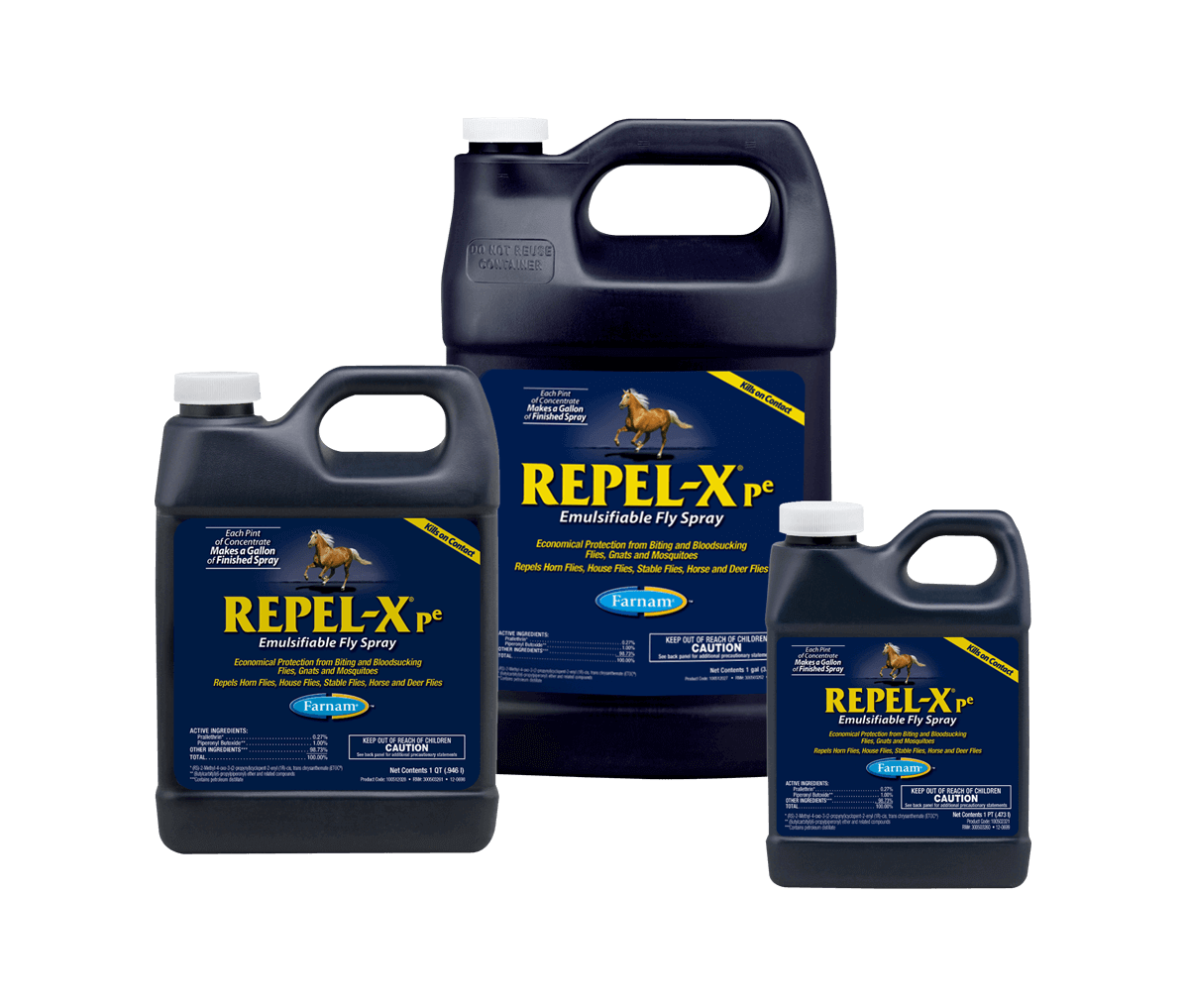 Repel-X<sup>®</sup> pe Emulsifiable Fly Spray - A Complete Line of Fly and Insect Control Products