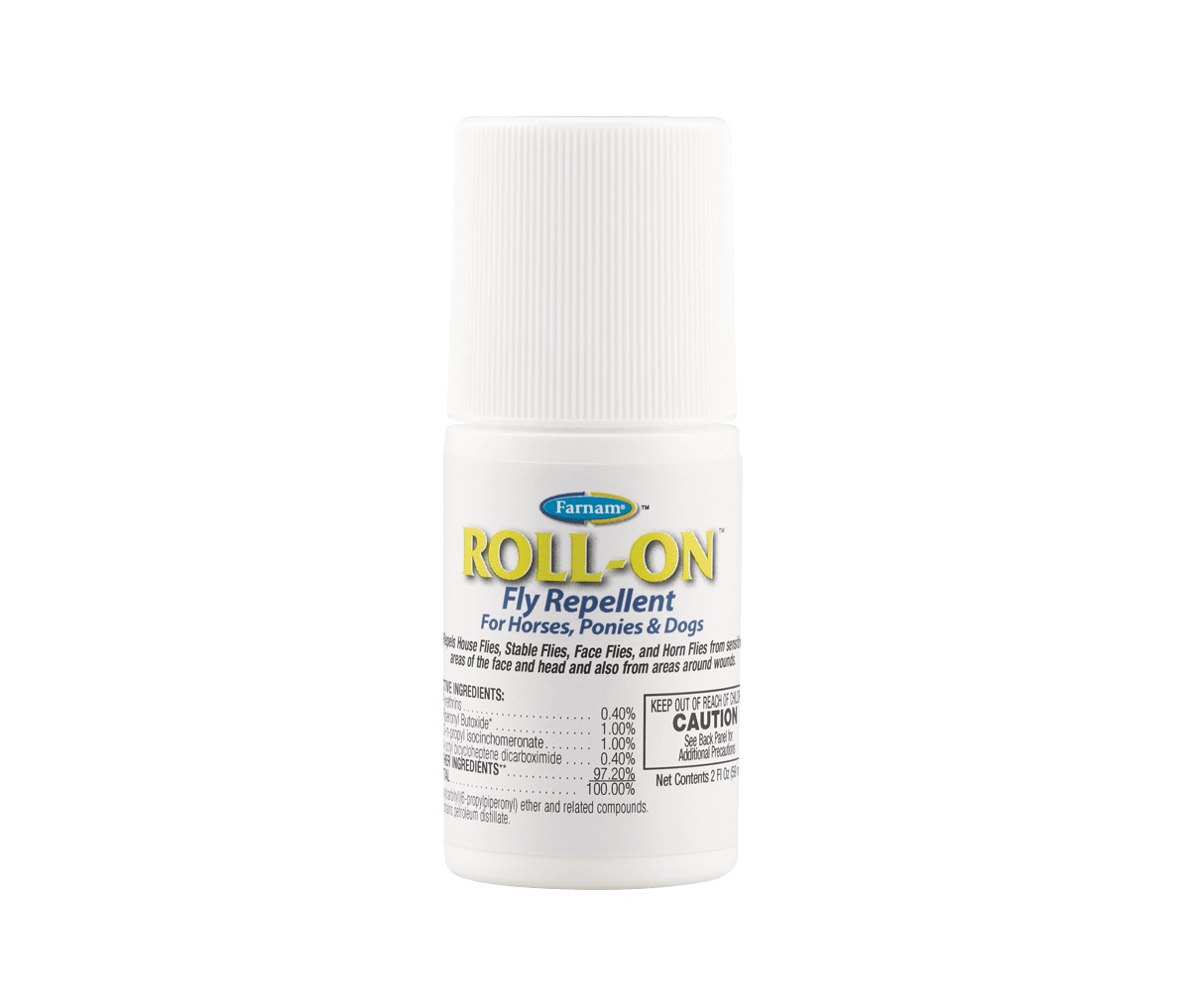 Equi Spot On Protection For Horses Fly Insect Control Farnam Bite Fighters Lotion Roll