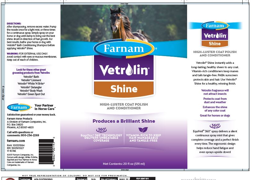 Vetrolin Shine Label 20oz