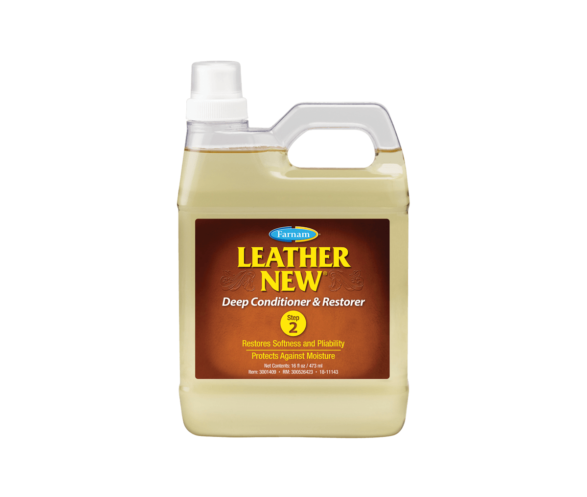 leather new deep conditioner and restorer