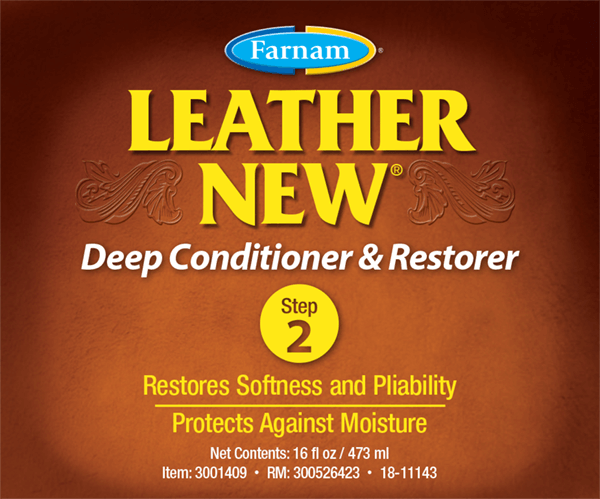 Leather New Conditioner Front Label