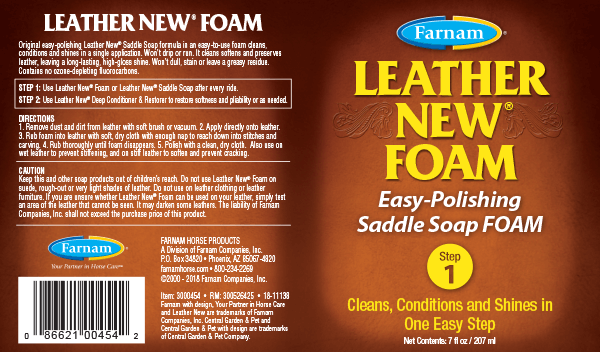 Leather New Foam Easy-Polishing Saddle Soap Foam | Leather