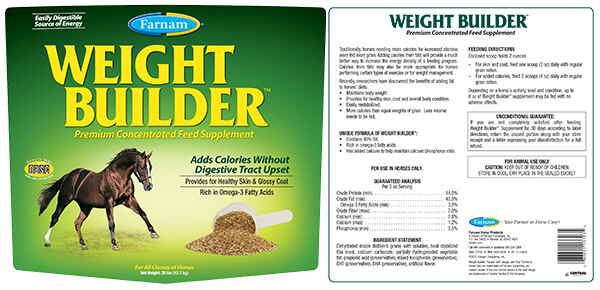 Weight Builder Premium Concentrated Feed Supplement