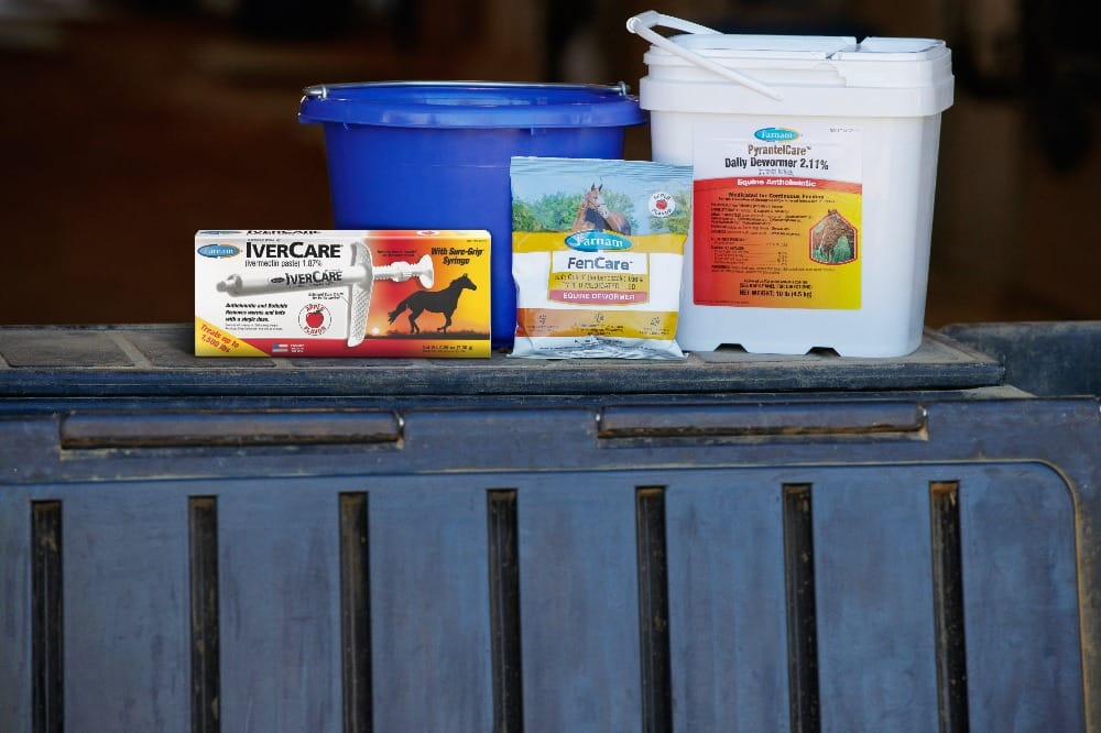 Your veterinarian will recommend the chemical class of dewormer you should use on your horse.