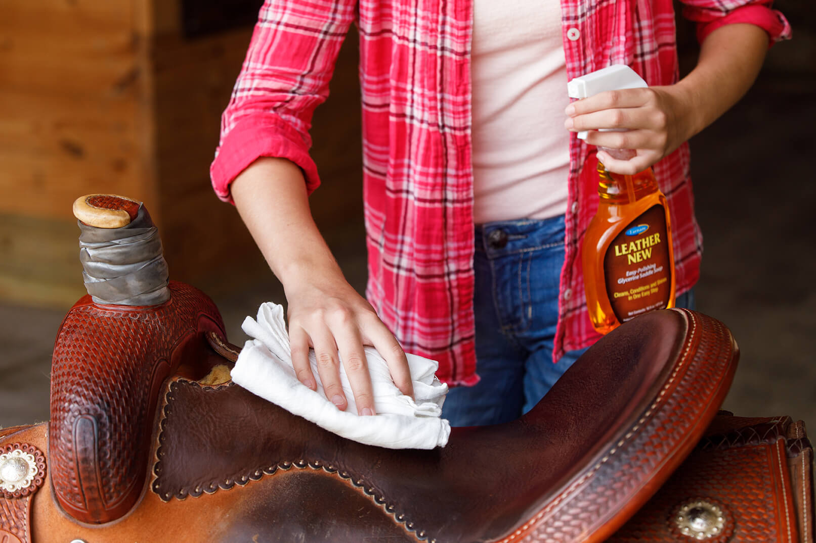 Do the Two-Step When It Comes to Leather Care