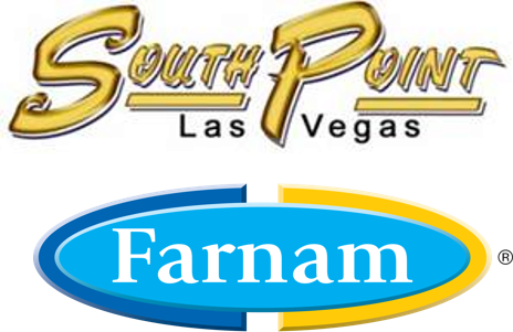 South Point Arena and Equestrian Center and Farnam logos